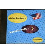 """Andre Kostelanetz  """" Music Of Richard Rogers'      78 - $10.00"""