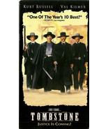 Tombstone VHS Kurt Russell Val Kilmer Sam Ellio... - $1.99