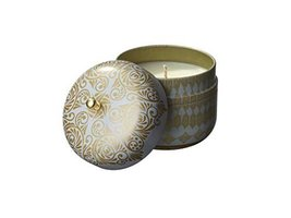 The Veda Company SoyVeda Vintage Travel Tin Candle, 8-Ounce, Diamond - $39.59