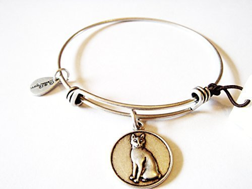 "Authentic Bella Ryann ""Cat"" adjustable wire bangle russian silver. (Same day ..."