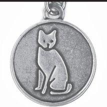 Bella Ryann Cat Charm Bracelet (Silver)
