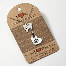 I Love My Pomeranian Fashion Necklace
