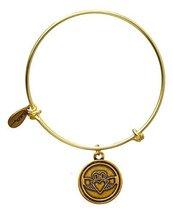 Bella Ryann Claddagh Bangle Bracelet (gold-plated-base)
