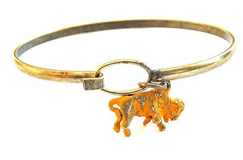 Buffalo Bison Charm Bracelet (Yellow)