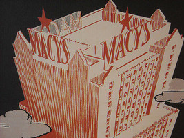 Vintage New York City Reproduction for the Macy's Building Grand Opening image 2
