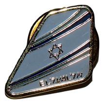 EL AL Israeli Airlines Official Staff Lapel Hat Pin image 1
