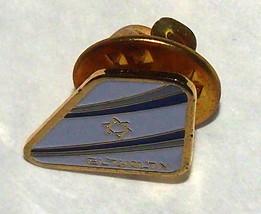 EL AL Israeli Airlines Official Staff Lapel Hat Pin image 2
