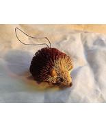 Palm Fiber Hedgehog Brush Animal Eco Fiber Sustainable Ornament - $39.99