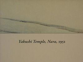 Reproduktion Vintage Woodblock Aufdruck 1951 Yakushi Temple Nava in Schnee image 4