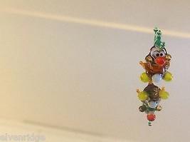Mikro Miniatur kleiner Handgeblasener Glas Nymphensittich Hergestellt in USA Nib image 3