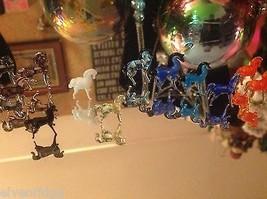 Micro Miniature Kleine Hand durchgebrannte Glas Standing Pferd In Farbwahl image 2