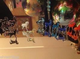 Micro Miniature Kleine Hand durchgebrannte Glas Standing Pferd In Farbwahl image 8
