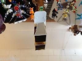 Mikro Miniatur kleiner Handgeblasener Glas Nymphensittich Hergestellt in USA Nib image 4