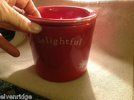 Red with snowflakes Delightful Dip Chiller 2 piece set Keeps Dips Perfect Temp image 2