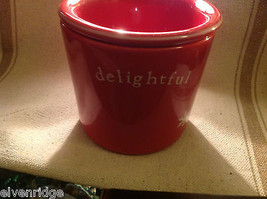 Red with snowflakes Delightful Dip Chiller 2 piece set Keeps Dips Perfect Temp image 7