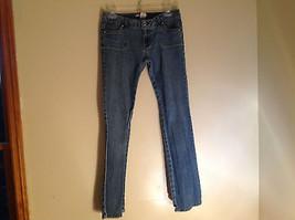 No Boundaries Juniors Rechteckige Tasche Design Blau Jeans Hergestellt in China