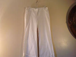Byer California Size 9 White Casual Pants Roll Up Bottom Excellent Condition - $34.64