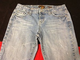 aeropostale light blue jeans size 9 to 10 regular denim jeans for women image 1