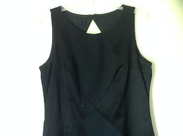 Black Diamond Criss Cross Sleeveless Open Back Dress by Datiani Size 12 image 2
