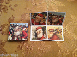 6 Sided Cube Vintage Church Puzzle - Santa Claus Christmas Themed image 4