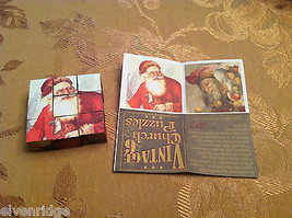 6 Sided Cube Vintage Church Puzzle - Santa Claus Christmas Themed image 7