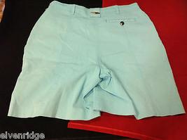 Jamie Sadock Womens Golf Tennis Classy Sport Shorts Light Blue size 6 image 3