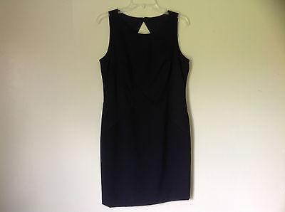 BLACK DIAMOND Criss Kreuz Ärmellos Kleid Mit Offenem Rücken Von Datiani Größe 12