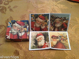 6 Sided Cube Vintage Church Puzzle - Santa Claus Christmas Themed image 3