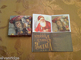 6 Sided Cube Vintage Church Puzzle - Santa Claus Christmas Themed image 8