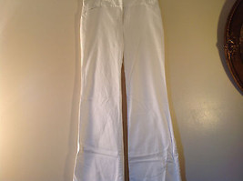 Byer California Size 9 White Casual Pants Roll Up Bottom Excellent Condition image 3