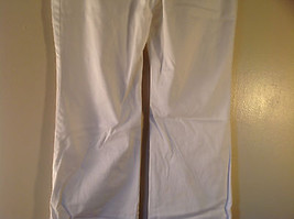 Byer California Size 9 White Casual Pants Roll Up Bottom Excellent Condition image 5
