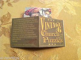 6 Seitig Würfel Vintage Kirche Puzzle - Weihnachtsmann Weihnachten Themen image 9