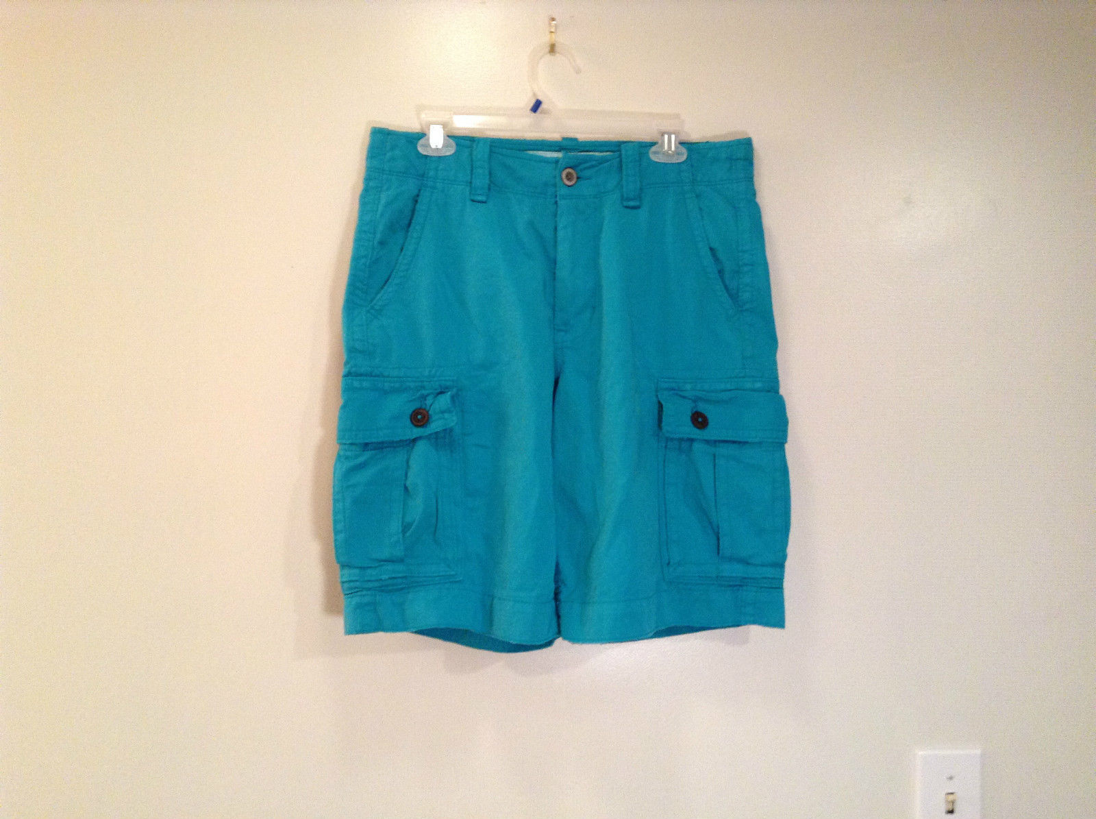 100 Percent Cotton American Eagle Outfitters Turquoise Shorts Sizes 31