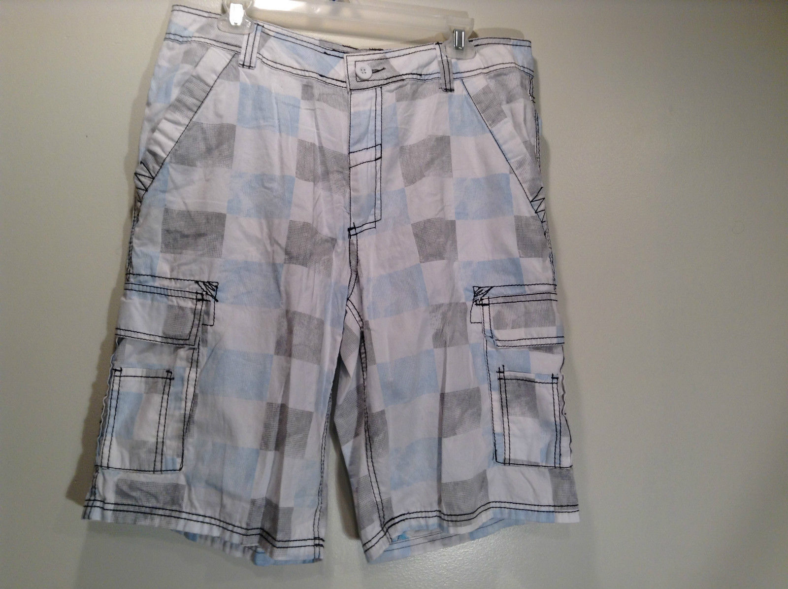 100 Percent Cotton Surplus 34 Casual Shorts Size 34 Front and Back Pockets
