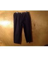 100 Percent Cotton Dark Blue Stretchy Waist Pants Tara Vanessa Pants - $49.49