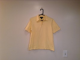 100 Percent Cotton Yellow Short Sleeve Brooks Brothers Size M Polo Shirt