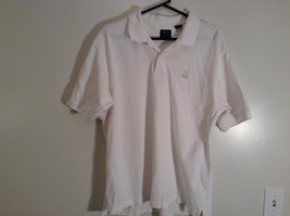 100 Percent White IZOD Short Sleeve Polo Shirt Size Large