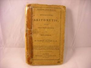 1849 Intellectual Arithmetic Upon the Inductive Method
