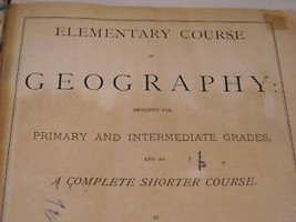 1875 Primary School Geography Textbook illustrated Swinton's image 6
