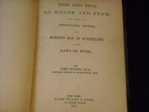 1881 Time and tide by weare and tyne by John Ruskin