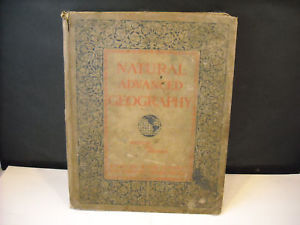 1901 Natural Advanced Geography Redway and Hinman