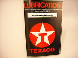 1984-1990 Hardcover Bound Periodicals- Lubrication