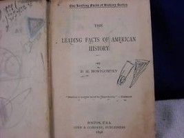 1898 Leading Facts of American History