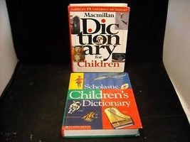 2 Children's Dictionaries Scholastic and Macmillan