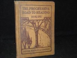1909 Progressive road 2 reading hardcover childs book