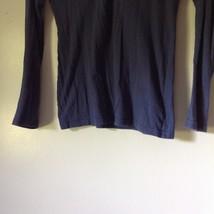100 Percent Cotton Navy Blue Long Sleeve Aeropostale Shirt Size Medium image 3