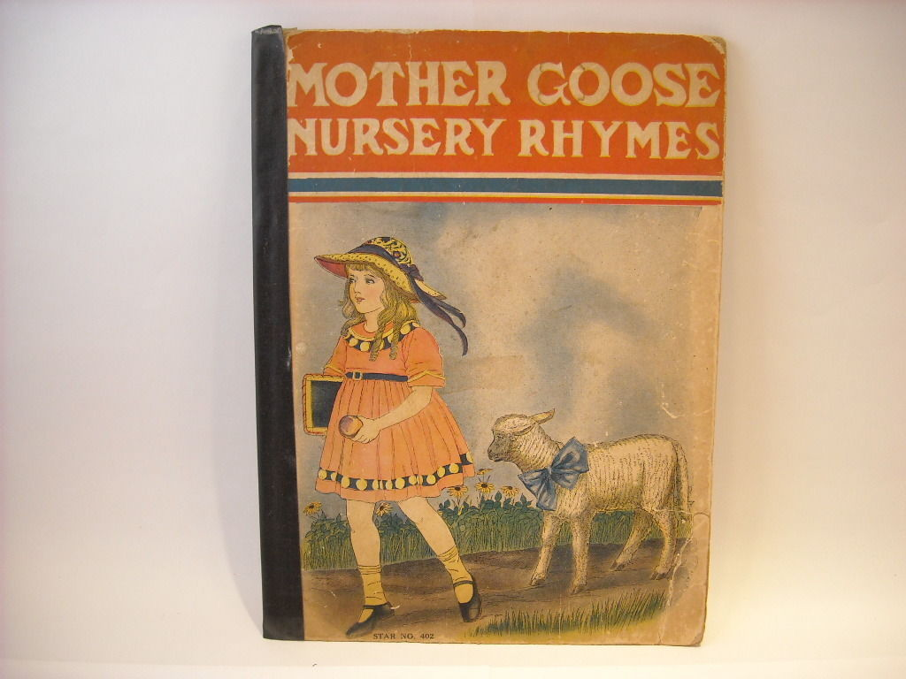 1922 Mother Goose Nursery Rhymes Watty Piper Illustrated