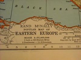 1931 Atlas of the world Gazatteer Rand McNally image 9