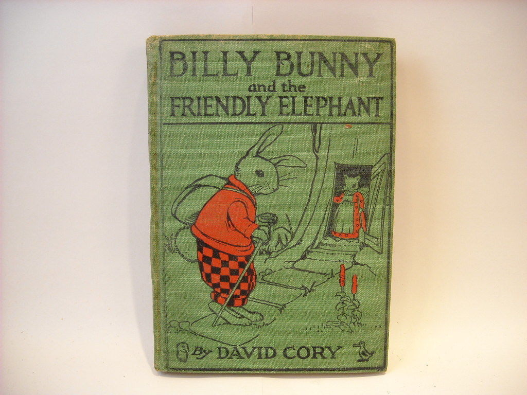 1920 Billy Bunny and the Friendly Elephant David Cory illustrated first edition