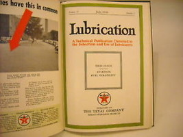 1946 Hardcover Bound Monthly Periodicals- Lubrication